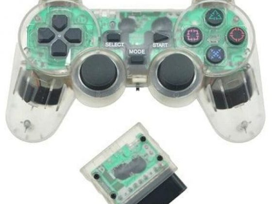 italiaunix-2.4G Wireless Game Controller for Sony PS2  Gearbest