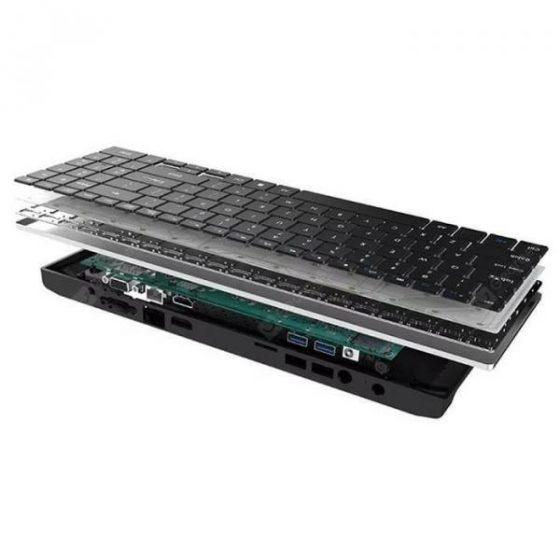 italiaunix-Acute angle AA - K3 DIY Business Keyboard Mini PC