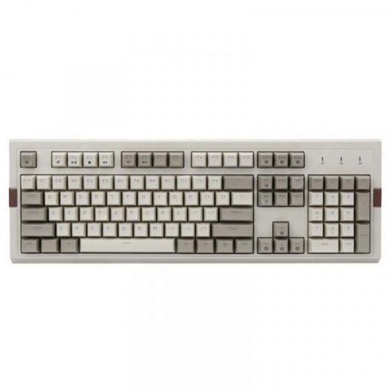 italiaunix-Ajazz AK510 Retro Game Wired Mechanical Keyboard 104 Key Two-color PBT Ball Key Cap