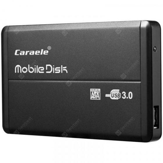 italiaunix-Caraele H - 2 Ultra-thin Portable Mobile Hard Disk Storage USB3.0