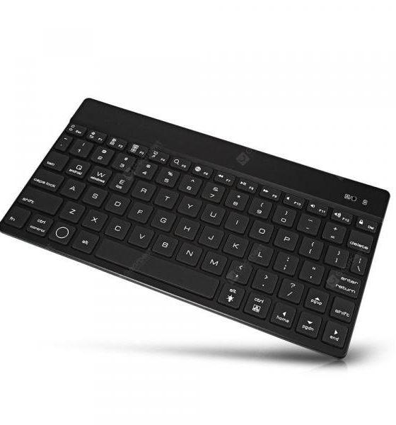 italiaunix-F3S Wireless Keyboard 78 Keys  Gearbest