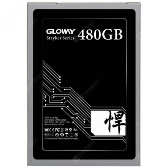 italiaunix-Gloway STK480GS3 - S7 SATA3 2.5inch 480G SSD Solid State Drive  Gearbest