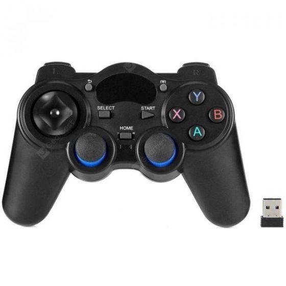 italiaunix-HUAY EF-008 2.4GHz Wireless Game Controller