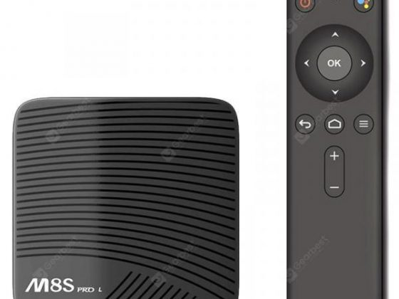 italiaunix-MECOOL M8S PRO L 4K TV Box with Voice Remote Control  Gearbest