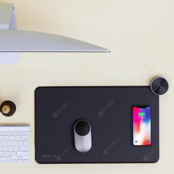 italiaunix-MWSP01 Smart Qi Wireless Charging Mouse Pad from Xiaomi Youpin