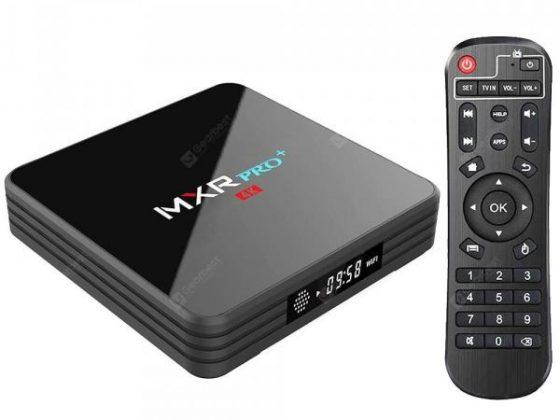 italiaunix-MXR Pro + TV Box 4GB RAM + 32GB ROM