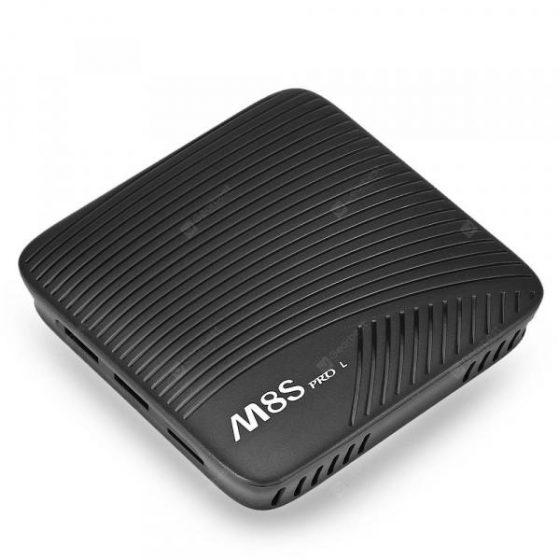 italiaunix-Mecool M8S PRO L 4K TV Box Amlogic S912 Bluetooth 4.1 + HS