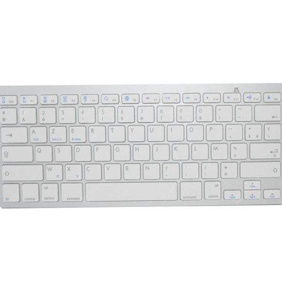 italiaunix-Mini French Portable Bluetooth Keyboard for Ipad Tablet Phone  Gearbest