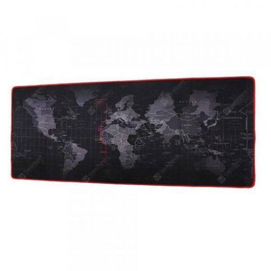 italiaunix-Minismile 2mm AntiSlip World Map Speed Game Mouse Pad Gaming Mat Office Supplies