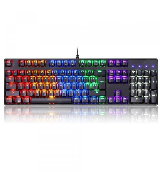 italiaunix-Motospeed CK96 USB Wired Backlight Mechanical Keyboard  Gearbest