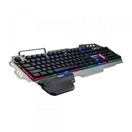 italiaunix-New Mechanical Feel Wired Office and Family Game Keyboard with Light Indicator