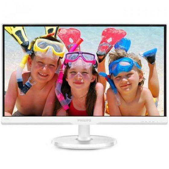 italiaunix-PHILIPS 236V6QSW 23-inch LCD Monitor IPS Wide Viewing Angle HD Eye Protection No Flash Computer Display