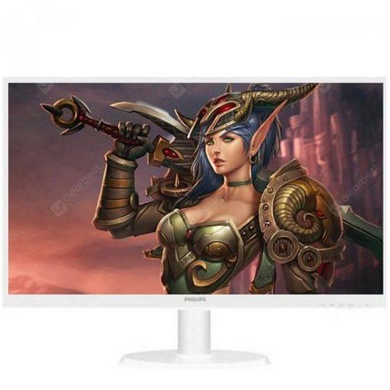 italiaunix-PHILIPS 243V5QSW / 93 23.6 inch Widescreen Desktop Computer Host LCD Display