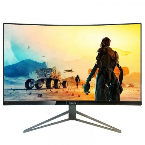 italiaunix-Philips 278M6FJMB Resolution 2560 X 1440 27-inch Violent Series 2K Curved LCD Computer Monitor Built-in Audio  Gearbest