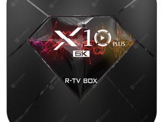 italiaunix-R - TV BOX X10 Plus TV Box Android 9.0  Gearbest