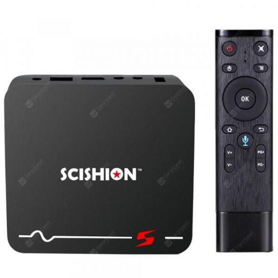 italiaunix-SCISHION Model S Voice Remote TV Box