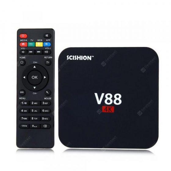 italiaunix-SCISHION V88 TV Box Rockchip 3229 Quad Core