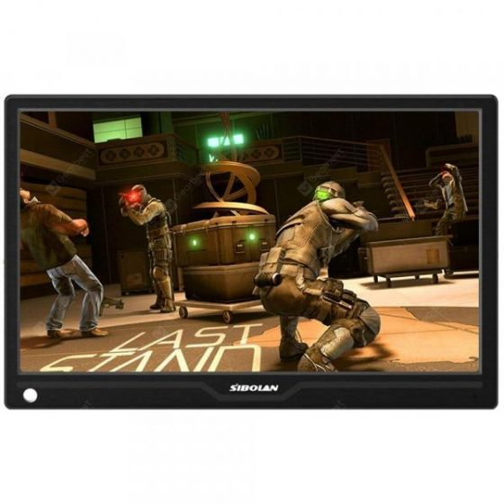 italiaunix-SIBOLAN S12 13.3 inch 1080p HDR Portable Monitor with HD Input Build in Speakers