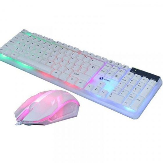italiaunix-T11 Backlight Mouse and Keyboard Set Gaming Combo  Gearbest