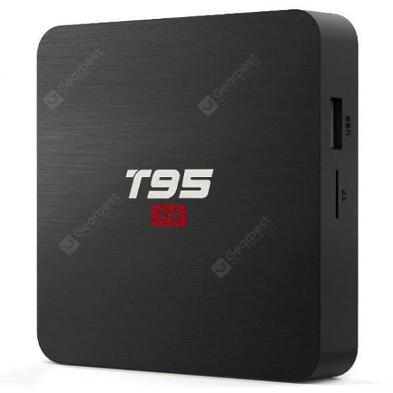italiaunix-T95 S2 Amlogic S905W TV Box 2.4GHz WiFi 4K H.265