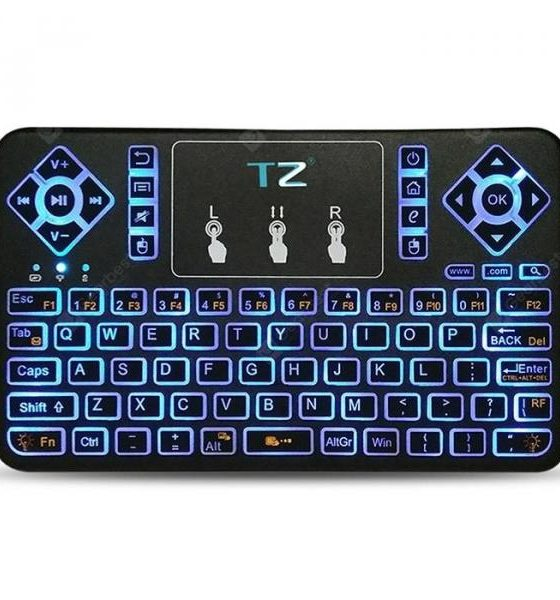 italiaunix-TZ Q9 Wireless Mini Keyboard  Gearbest