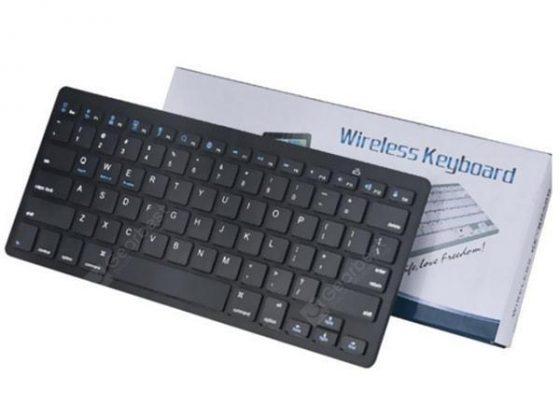 italiaunix-Universal Bluetooth Keyboard Portable Ultra-thin Silent Mini Wireless Tool  Gearbest