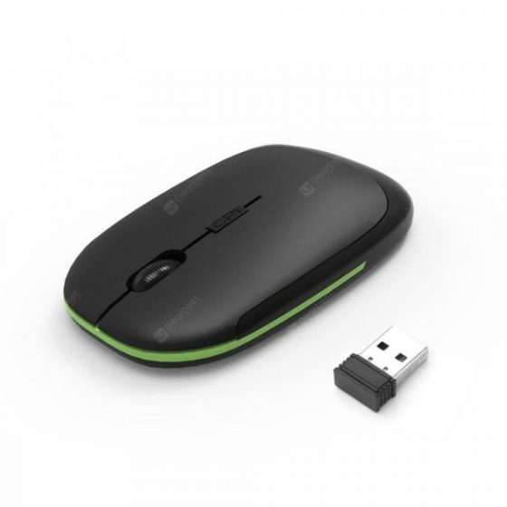 italiaunix-Wireless Mouse 2.4G USB Nano Receiver Super Slim Mouse For Laptop Notebook PC