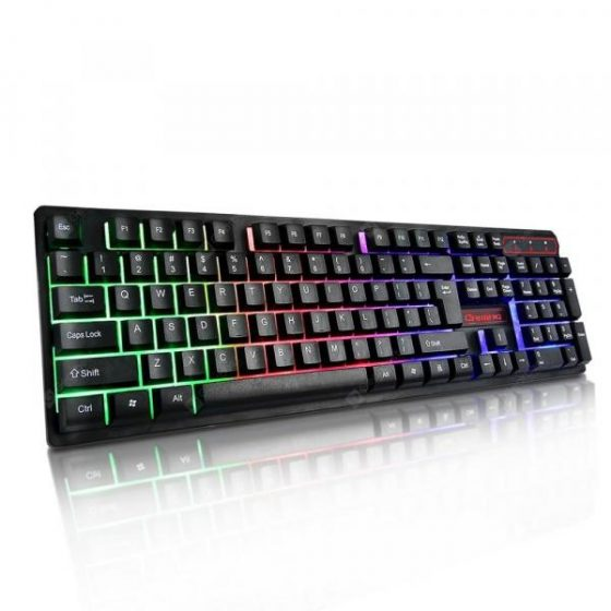 italiaunix-YWYT Y604 Colorful backlight game keyboard suspension key cap 19 keys no conflic  Gearbest