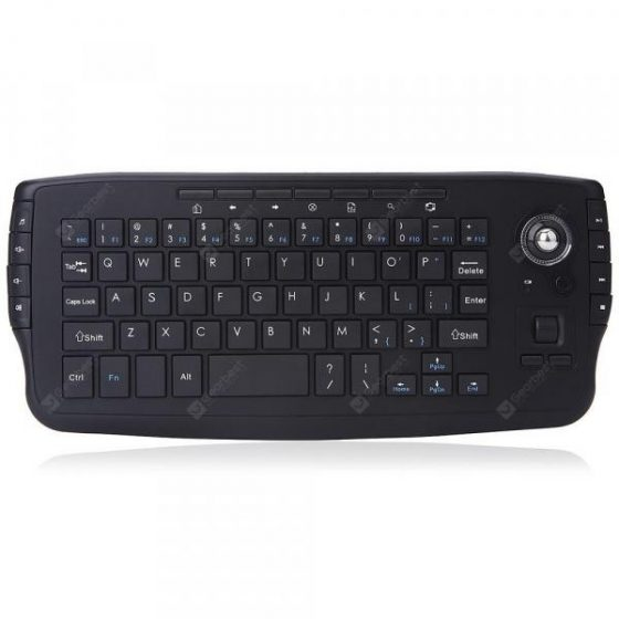 italiaunix-2.4GHz Wireless Keyboard 94 Keys with Mouse Function  Gearbest