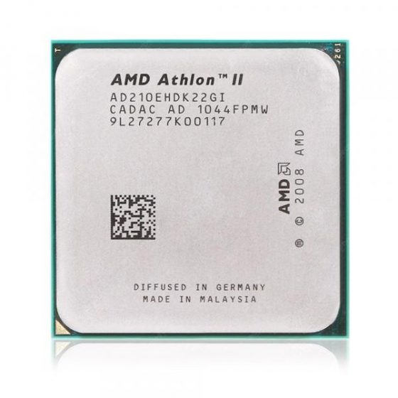 italiaunix-AMD Athlon II 210E Dual-core AM3+ 2.6GHz CPU  Gearbest