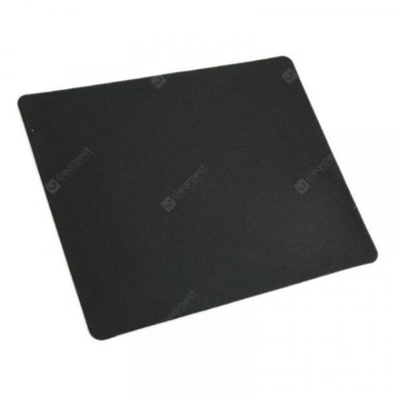 italiaunix-Black Slim Square Mouse Pad Mat Mousepad  Gearbest