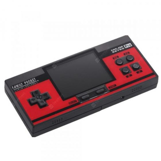 italiaunix-CoolBaby RS-88 Retro Portable Handheld Game Player Built-In 348 Classic Games  Gearbest