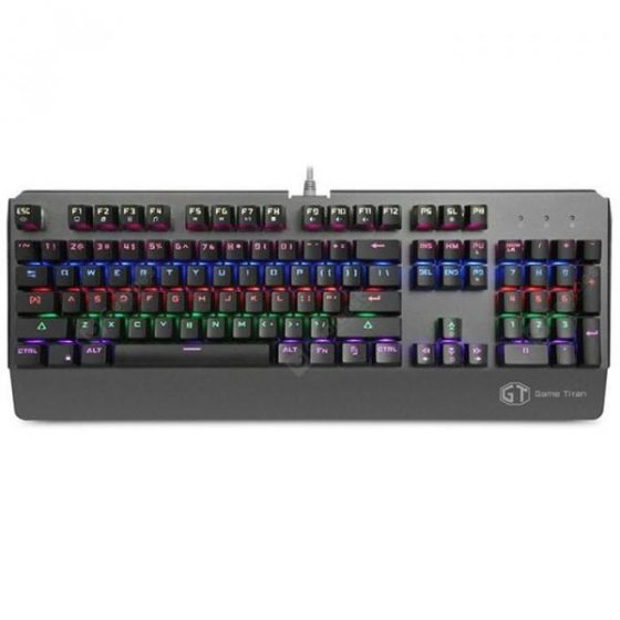 italiaunix-Delux KM06 Wired Game Mechanical Keyboard Blue Switch  Gearbest