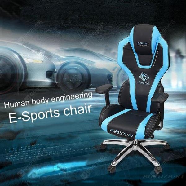 italiaunix-E-Blue C305 Adjustable Electronic Sports Chair  Gearbest