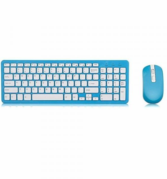 italiaunix-GKM520 Wireless Keyboard and Mouse Set  Gearbest