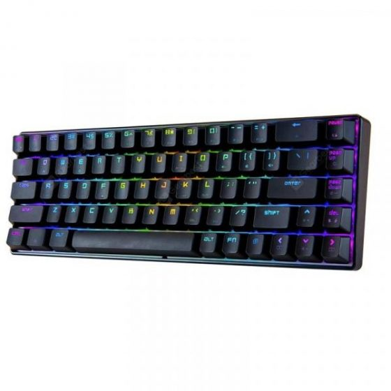italiaunix-MAGIC _ REFINER MK14 Mechanical Keyboard 68 Key Blue Switch  Gearbest