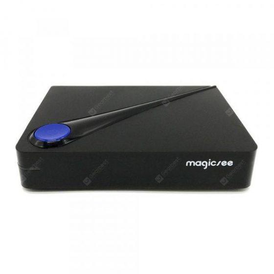 italiaunix-Magicsee C300 DVB S2 + T2 / C TV Box  Gearbest