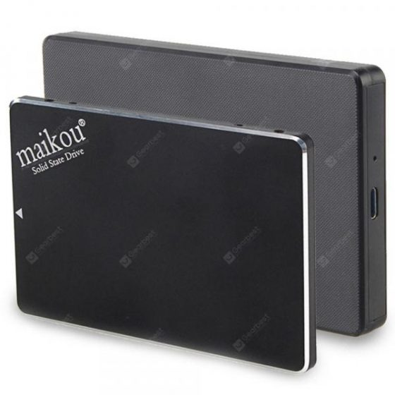 italiaunix-Maikou 2 in 1 SATA 3 to USB 3.0 Mobile Solid State Drive  Gearbest