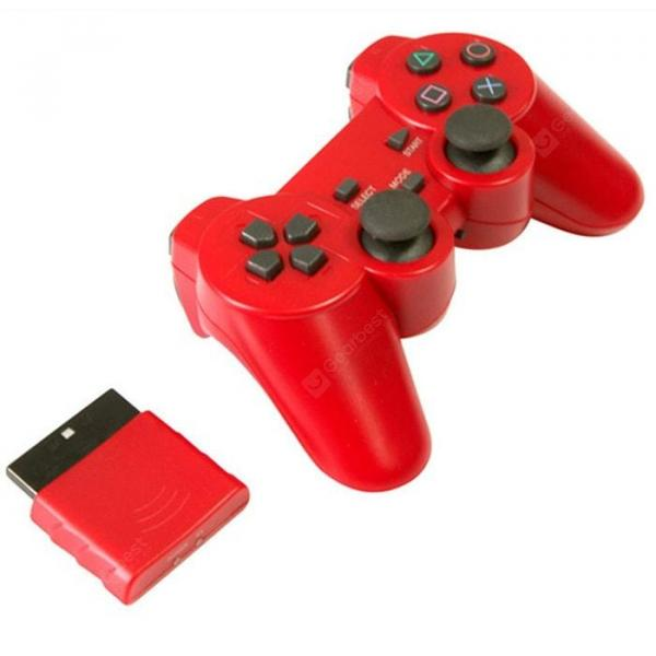 italiaunix-PS2 Handle 2.4G Wireless Game Controller Compatible with PS1 Handle Convertible Computer PS2 Game Controller  Gearbest