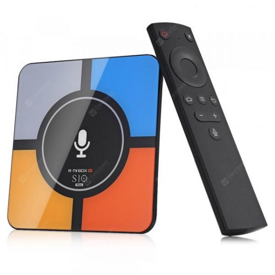 italiaunix-R-TV BOX S10 PLUS TV Box with Wireless Charging Voice Search  Gearbest