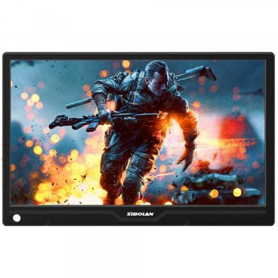 italiaunix-SIBOLAN S15c 13.3 inch IPS USB Portable Monitor 1080P HDR with HDMI/TYPE-C input  Gearbest