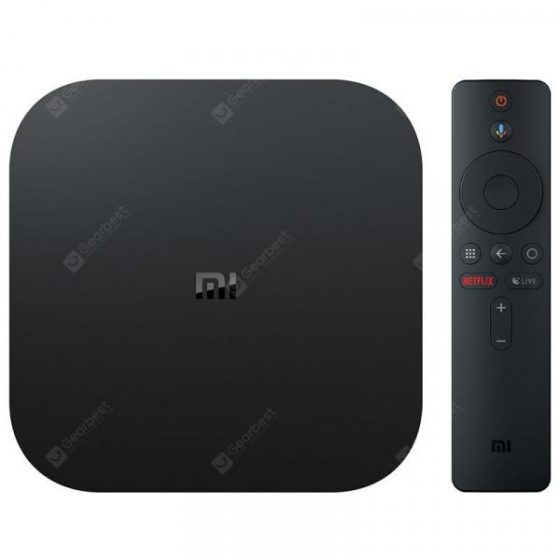 italiaunix-Xiaomi Mi Box S with Google Assistant Remote Official International Version  Gearbest