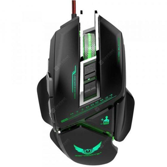 italiaunix-ZERODATE X400 Ergonomics Mechanical Mouse  Gearbest