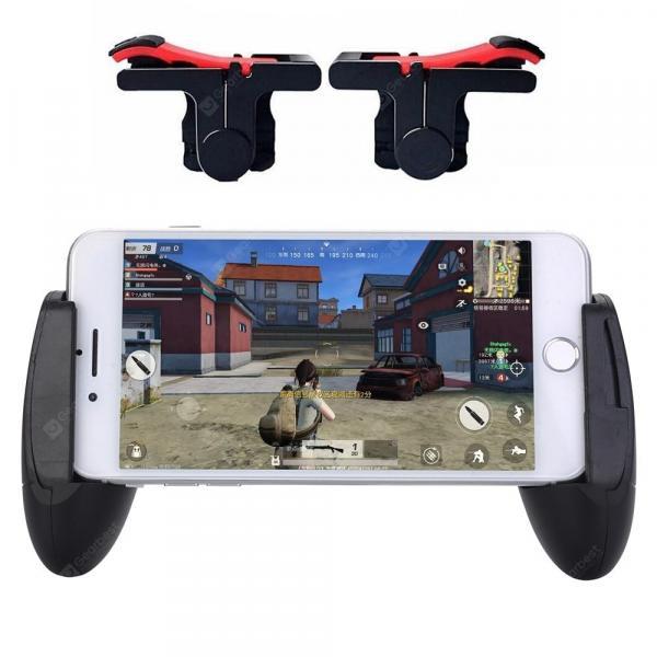 italiaunix-2 in 1 Gaming Trigger Controller Joystick Fire Button Aim Key + Gamepad for PUBG  Gearbest