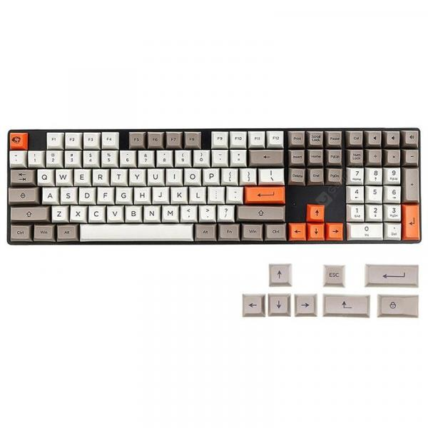 italiaunix-AKKO Steam Engine 108 Key SA Profile PBT Keycaps for Mechanical Keyboard  Gearbest