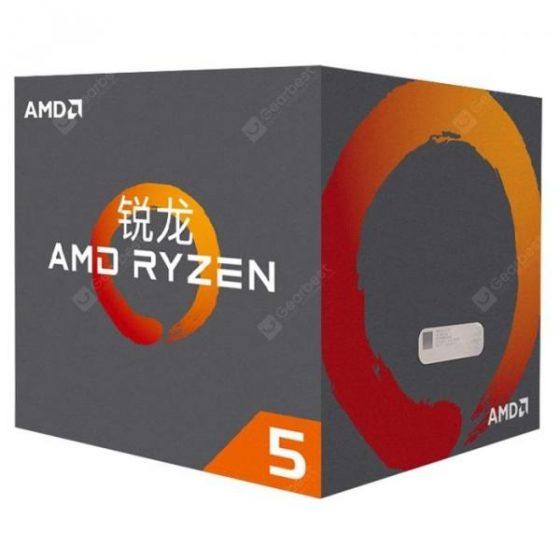 italiaunix-AMD Ryzen 5 2600X 6 Core 12 Thread AM4 Interface Dual Channel DDR4 - 2933MHz 3.6GHz Boxed CPU  Gearbest