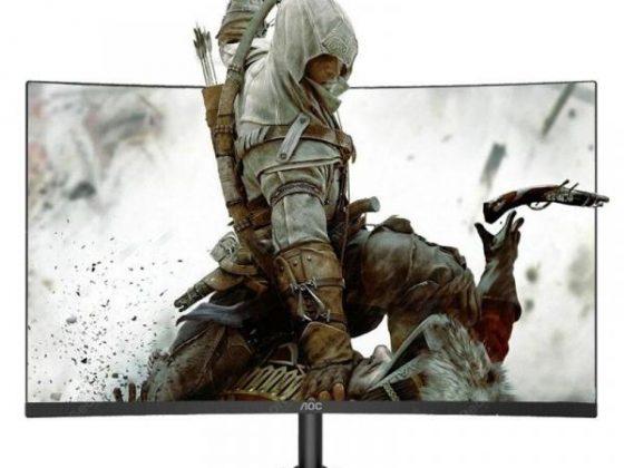 italiaunix-AOC C27B1H Monitor 27 inch 1700R Curved LCD MVA Display  Gearbest