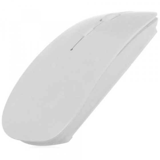 italiaunix-E01 Super Slim 2.4GHz Wireless Optical Mouse with Receiver 4 Keys for Desktop Laptop PC Computer  Gearbest