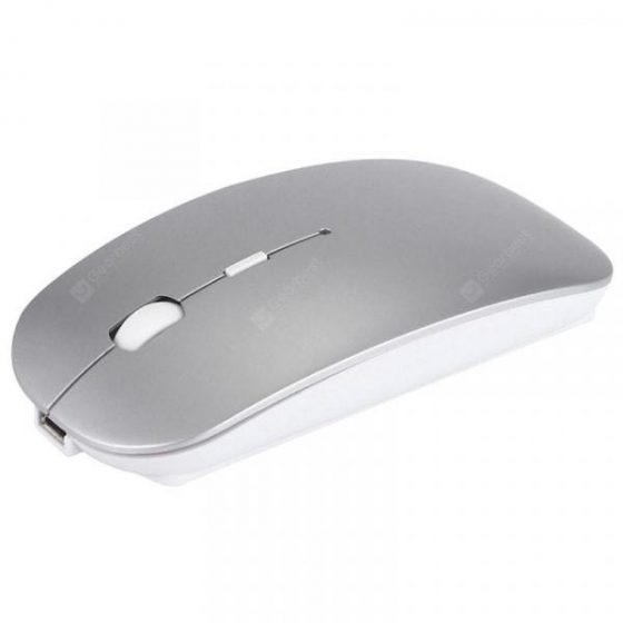 italiaunix-E28 Ultra-thin Dual-mode Wireless Bluetooth Mouse  Gearbest