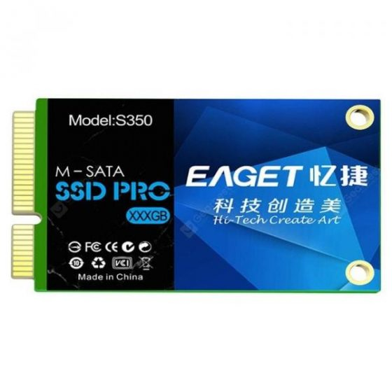 italiaunix-EAGET S350 M - SATA Mini Compact Solid State Drive SSD  Gearbest